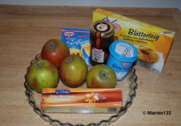 Apfel-Tarte auf spanische Art - Rezept - Bild Nr. 2