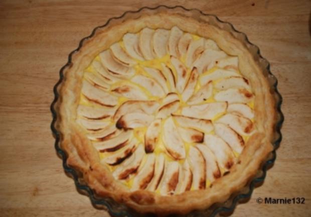 Apfel-Tarte auf spanische Art - Rezept - Bild Nr. 6