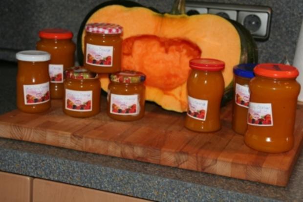 Kürbis-Orangen-Apfel-Marmelade - Rezept - Bild Nr. 4