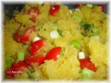 Salat - Salat mit Spaghetti-Kürbis - Rezept
