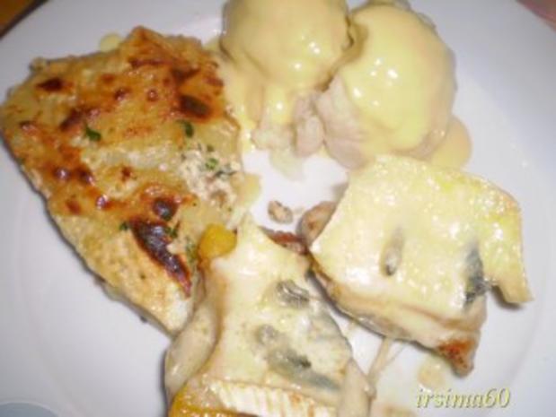 Kartoffelgratin mit Steinpilzen - Rezept - Bild Nr. 2