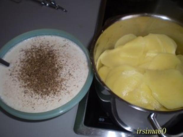 Kartoffelgratin mit Steinpilzen - Rezept - Bild Nr. 4