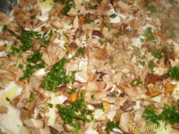 Kartoffelgratin mit Steinpilzen - Rezept - Bild Nr. 7