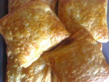 Geflügel Parmsesan Päckchen - Rezept