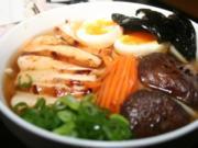 Lentzn-Sans Udon Soup - Rezept