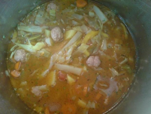 "Suppe ""Bunte Kohlsuppe"" - Rezept - Bild Nr. 5"