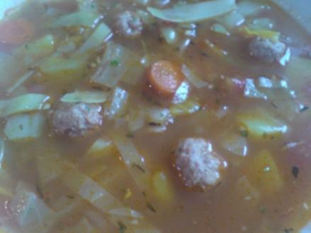 "Suppe ""Bunte Kohlsuppe"" - Rezept"