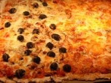 Vollkornpizza - Rezept