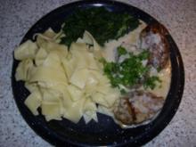 Schweinefiletmedaillons in Gorgonzola-Sauce - Rezept