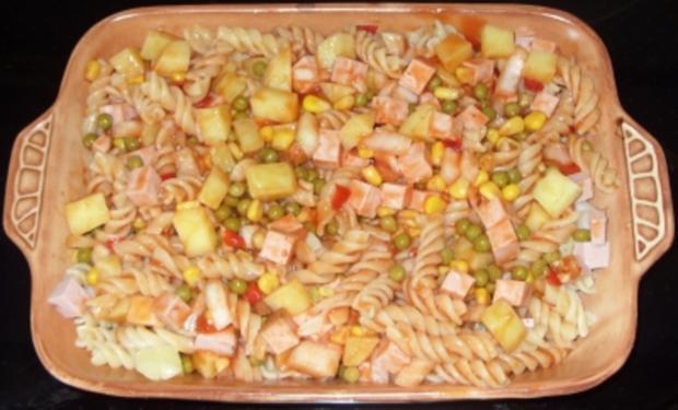 Auflauf herzhaft - Nudel-Kartoffel-Auflauf mit Leberkäse und Gemüse - Rezept - Bild Nr. 2