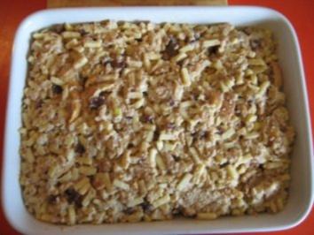Rezept: Mein süßer Brotauflauf
