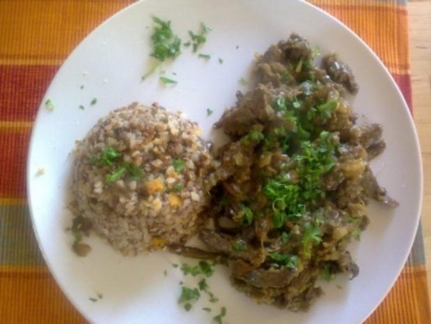 Rindfleisch in Ingwer (chinesische küche) - Rezept - kochbar.de