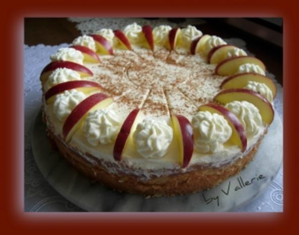 Apfelsaft-Torte - Rezept