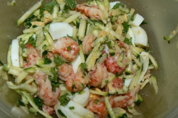 Flusskrebsfleisch-Salat - Rezept - Bild Nr. 2