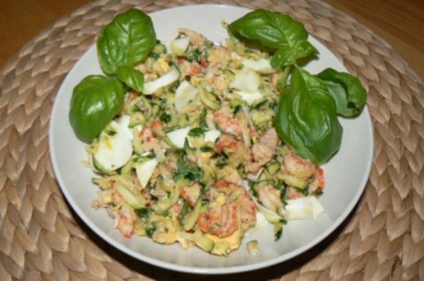 Flusskrebsfleisch-Salat - Rezept