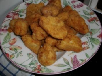 Hänchen Nuggets Asiatisch - Rezept