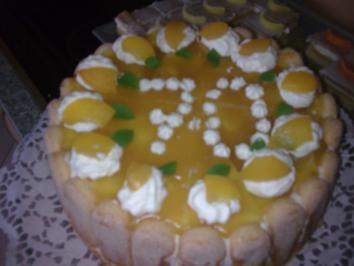 Rezept: Pfirsich-Joghurt-Torte