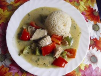 Puten-Paprika-Curry - Rezept