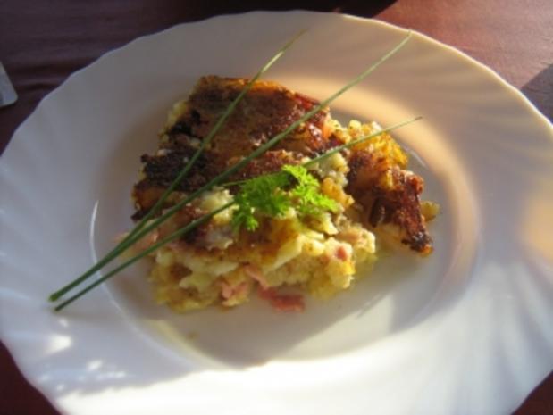 Schinken-Käse-Rösti - Rezept