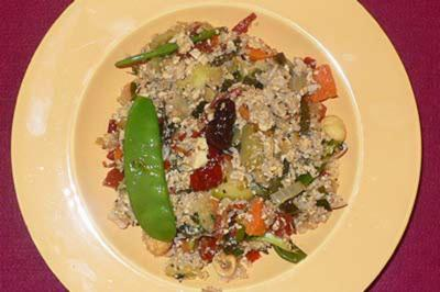 Asiatischer Reis mit Tofu - Rezept