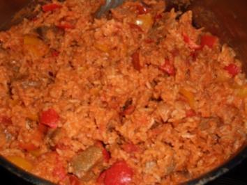 Reistopf nach Balkan-Art - Rezept