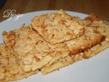 Blechkuchen mit Mandeln - Rezept
