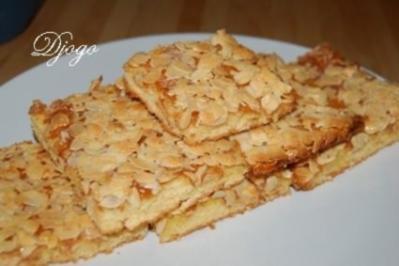 Blechkuchen Mit Mandeln Rezept Mit Bild Kochbar De