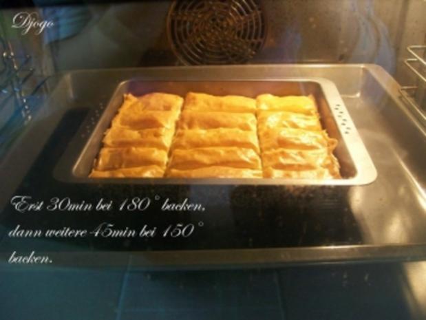 Baklava mit Walnüssen - Rezept - Bild Nr. 8