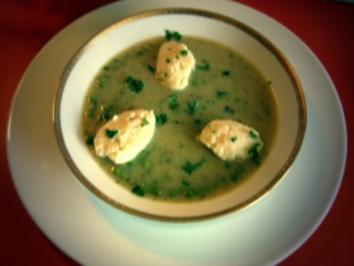 Suppeneinlage - Grießnocken - Rezept
