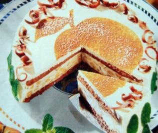 Joghurt Apfel Torte - Rezept