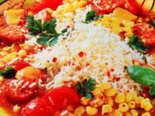Kreolischer Gemüse Wurst Topf - Rezept