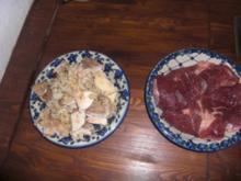 Rehsteaks mit Mischpilzen aus dem Wald - Rezept