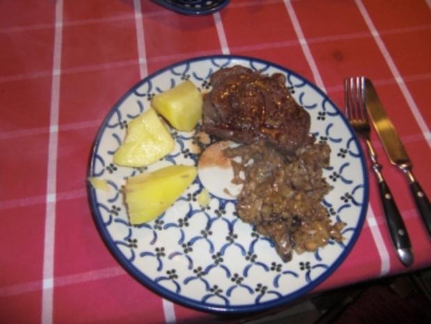 Rehsteaks mit Mischpilzen aus dem Wald - Rezept - Bild Nr. 3