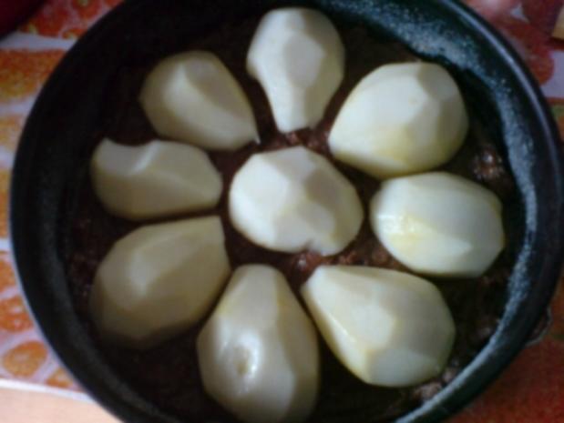 Birnen-Schoko-Nuss-Torte - Rezept - Bild Nr. 22