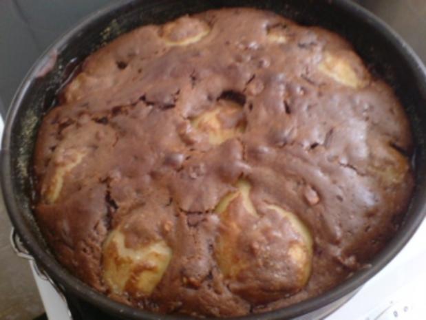 Birnen Schoko Nuss Torte Rezept Mit Bild Kochbar De