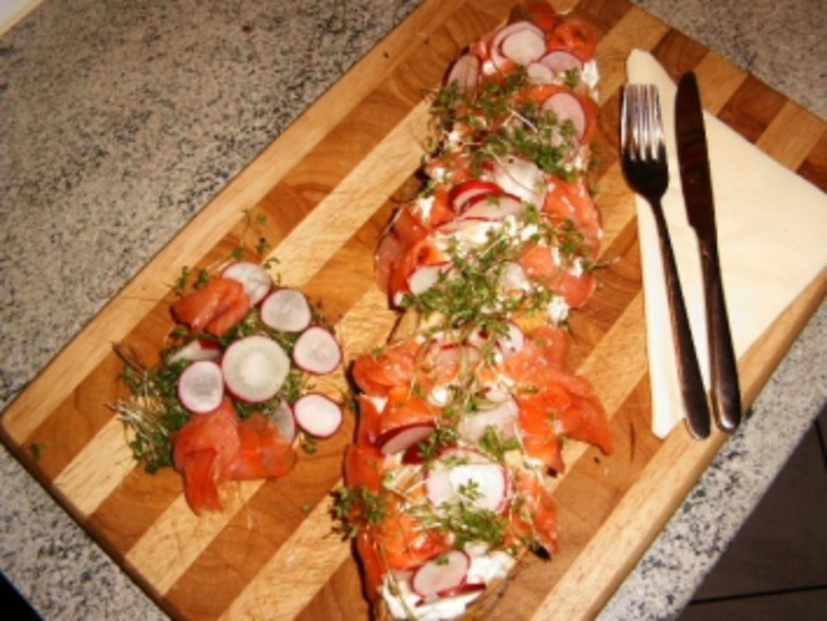 Lachs-Sandwich - Rezept Von Einsendungen wastel