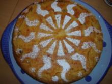 LUNA'S ITALIENISCHE BIRNENTORTE mit RICOTTAHAUBE - Rezept