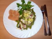 Salate: Birnen-Bohnen und Speck-Salat - Rezept