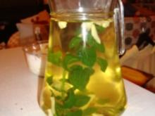 Pfefferminz-Ingwer-Tee - Rezept