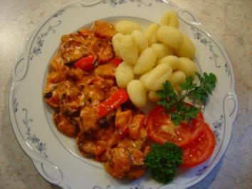 Rezept: Cabanossi-Pfanne mit Paprika und Zwiebeln... in 20 Min. fertig.. ich habe das Rezept halbiert!!!
