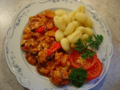 Cabanossi-Pfanne mit Paprika und Zwiebeln... in 20 Min. fertig.. ich habe das Rezept halbiert!!! - Rezept