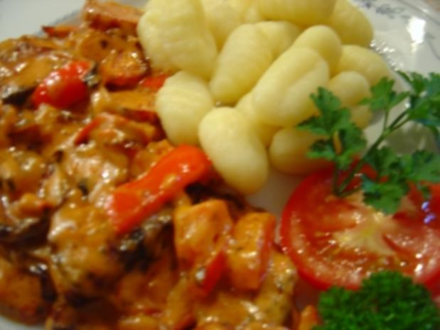 Cabanossi-Pfanne mit Paprika und Zwiebeln... in 20 Min. fertig.. ich habe das Rezept halbiert!!! - Rezept - Bild Nr. 2