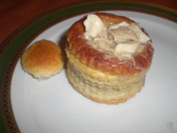 Pasteten mit Ragout Fin - Rezept
