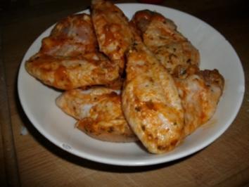 Asia Hähnchen wings mit knusper kartoffeln - Rezept