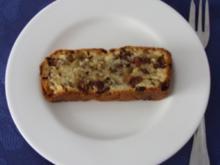 Kuchen - Bananen-Rosinen-Schokostreusel-Kuchen - Rezept