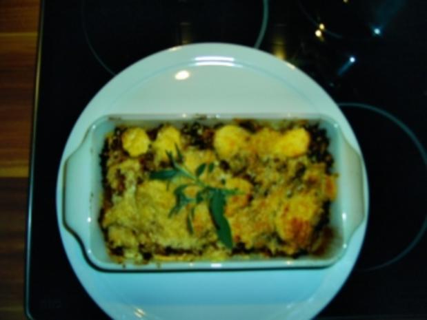 Hackfleisch-Gemüse-Auflauf überbacken - Rezept - Bild Nr. 2