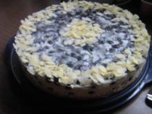 Burgunder-Trauben-Torte - Rezept