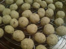 Kekse / Plätzchen - Marzipankugeln - Rezept