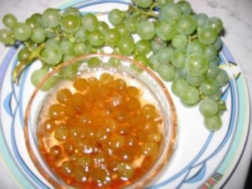 Trauben Zuckersüß - Rezept