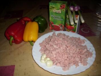 Reis-Mais-Paprika-Tomaten-Süppchen - Rezept